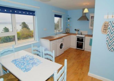 Anny Far and Near Rathmullan - dining and kitchen areas