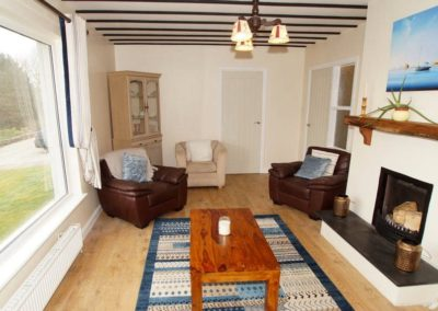 Anny Far and Near Rathmullan - view of living room