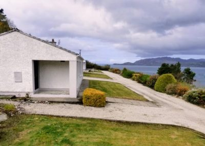 Anny Far and Near Rathmullan - with views over Lough Swilly towards Inishowen