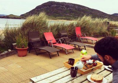 ONeills Beach House Tullagh Bay - alfresco dining