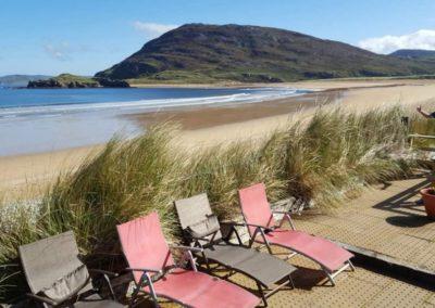 ONeills Beach House Tullagh Bay - beach front deck