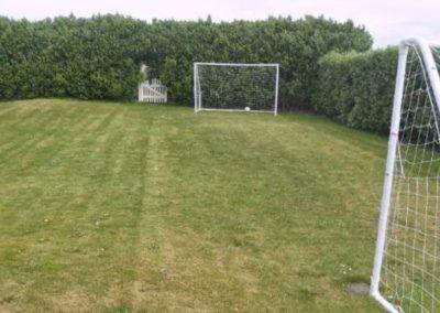ONeills Beach House Tullagh Bay - small football pitch in rear garden