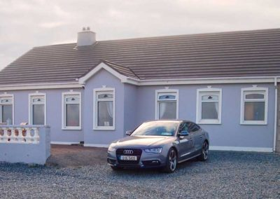 Pebble Cottage Malin Head Inishowen - front view