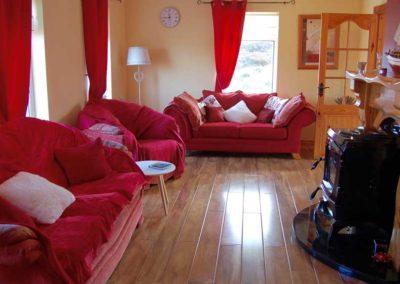 Pebble Cottage Malin Head Inishowen - living room