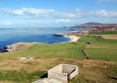 Pebble Cottage Malin Head Inishowen - view towards the cottage