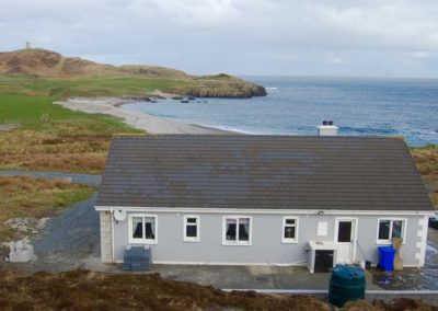 Pebble Cottage Malin Head Inishowen - with views towards lloyds Tower