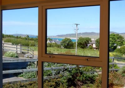 6 Glashedy View Ballyliffin - view from interior towards Pollan Bay