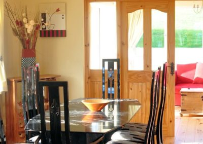 Ardglass Cottages Portsalon Donegal - dining area 2