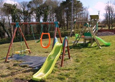 Ardglass Cottages Portsalon Donegal - outdoor kids play area