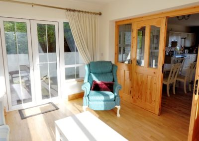 Ardglass Cottages Portsalon Donegal - sunroom 2
