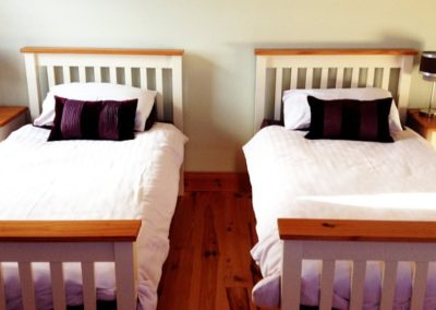 Ardglass Cottages Portsalon Donegal - twin bedroom