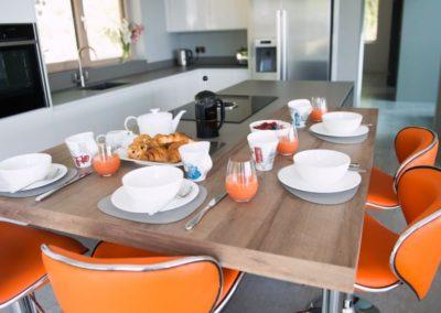 Cloud9 Redcastle Inishowen - enjoy breakfast while taking in the views