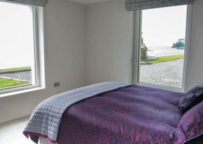 Cloud9 Redcastle Inishowen - ground floor double bedroom