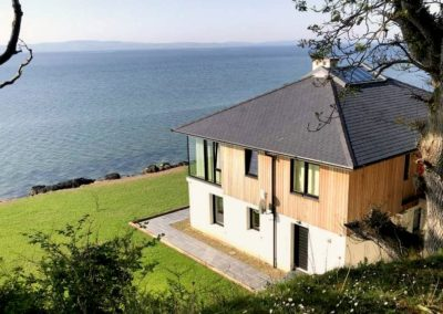 Cloud9 Redcastle Inishowen - panoramic views over Lough Foyle