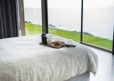 Cloud9 Redcastle Inishowen - uninterrupted sea views from bedroom