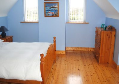 Haven Cottage Dunfanaghy - upper floor double bedroom