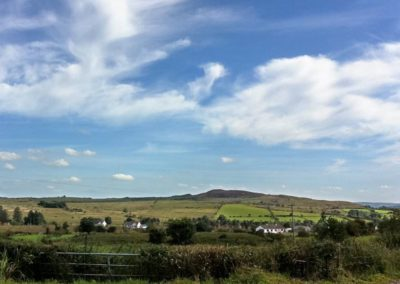 Joe's Cottage Cloughan Donegal - view from property