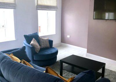 16 Main Street Buncrana Inishowen - main living area with flatscreen TV