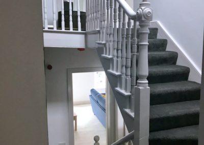 16 Main Street Buncrana Inishowen - stairway to upper floor bedrooms