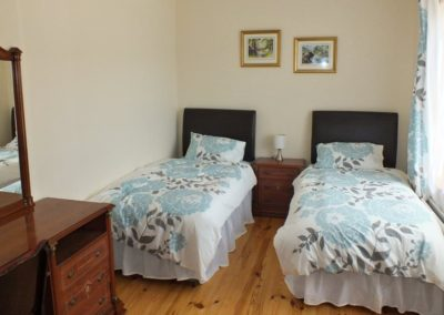 2 Seaview Downings- Downstairs twin bedroom
