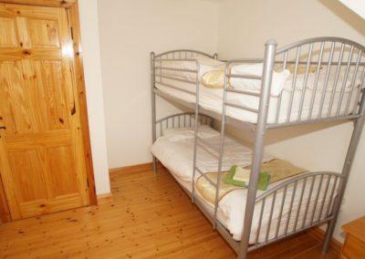Parkmore Cottage Culdaff - bunk bedroom