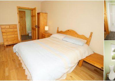 Parkmore Cottage Culdaff - ensuite bedroom