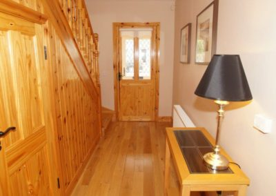 Parkmore Cottage Culdaff - entrance hallway