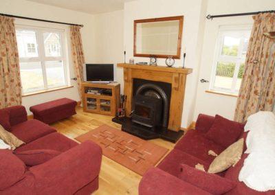 Parkmore Cottage Culdaff - living room