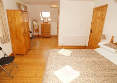 Parkmore Cottage Culdaff - master bedroom