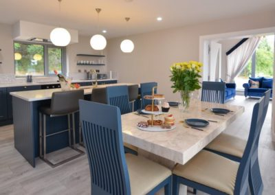 Pierview House Buncrana - dining and kitchen areas