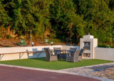 Pierview House Buncrana - outdoor living area