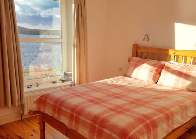 Bedroom with Glen Lough views