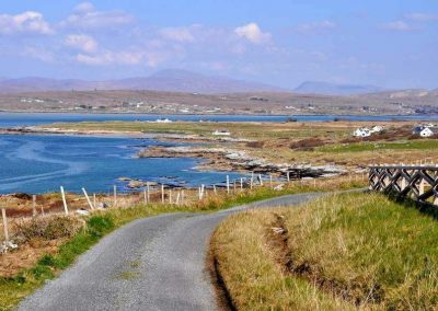 The holiday home is an ideal base to explore the Wild Atlantic Way in West Donegal