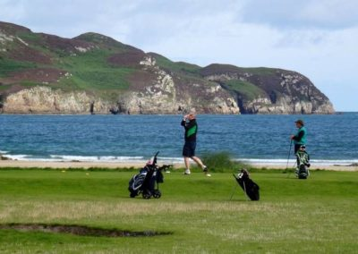 Golf at Dunfanaghy