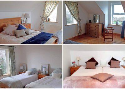 Bedrooms of Lough View Cottage Glen - Carrigart