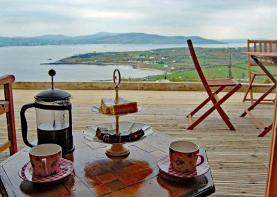 Breakfast with a view - Inniskill Lodge Rathmullan