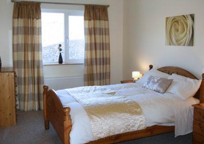 Ground floor double bedroom of Ard na Mara