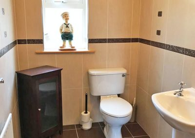 Ground floor toilet