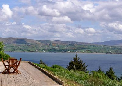 Inniskill Lodge Rathmullan - looking towards Inishowen