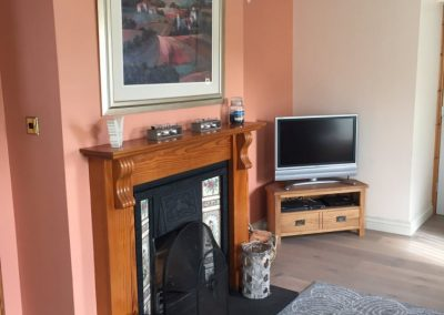Kelly Crescent Beach House - open fireplace
