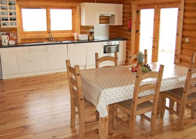 Kitchen area - Inniskill Lodge Rathmullan