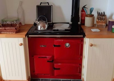 The Rayburn Cooker in the Kitchen