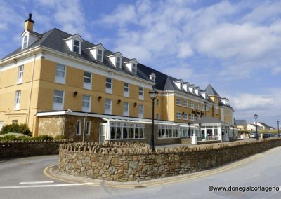 The Sand House Hotel on Rossnowlaghs Beach Front