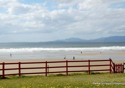 The holiday home is just 5 minutes walk from Rossnowlagh Beach