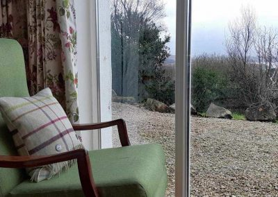 The holiday home is set in a tranquil location