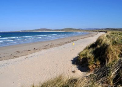 Ballyhiernan Beach is the base for Adventure One Surf School