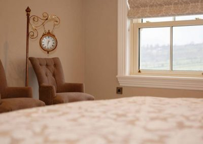 Bedroom interior - Lake Side Retreat Donegal