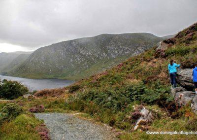 High above Lough Veagh - Glenveagh National Park
