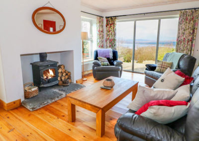 Main living area at Lough View at Glen - Carrigart