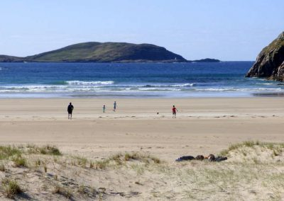 Sessiagh Beach - one of several fine beaches within easy driving distance